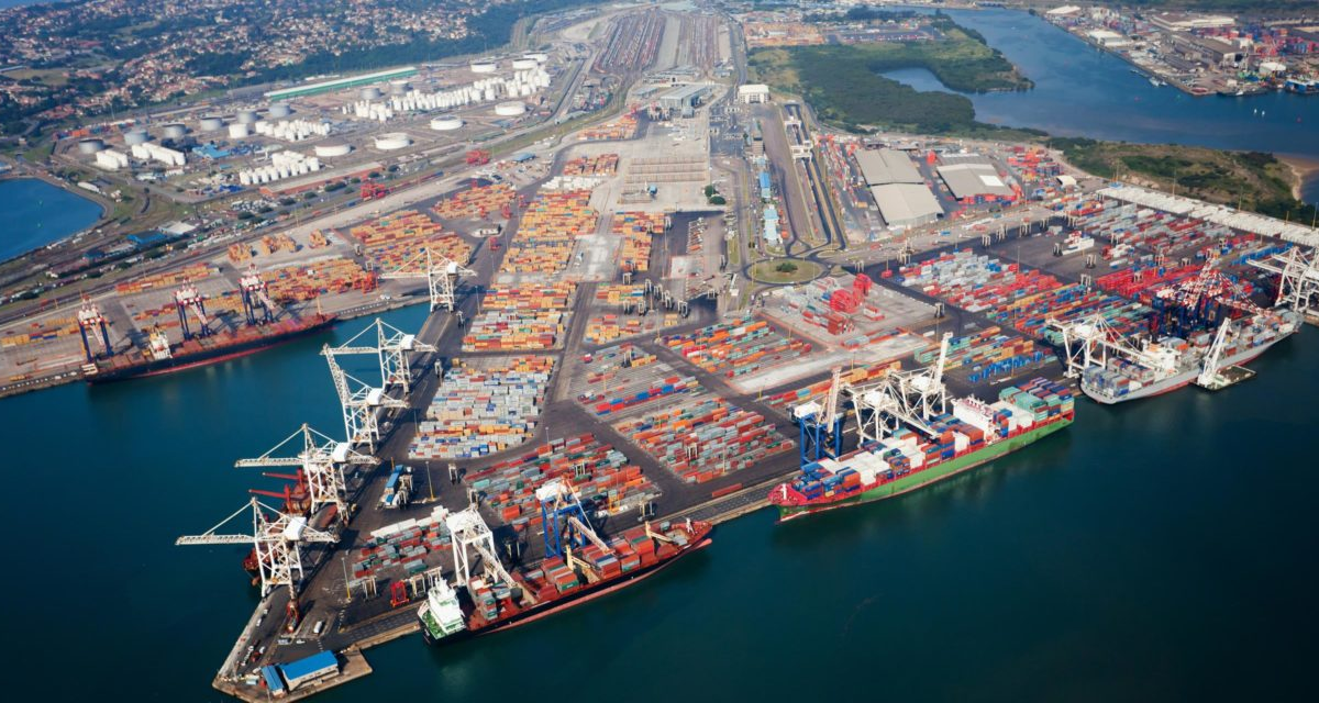 Port of Durban seeks R100bn in private investments